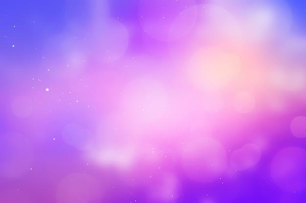 テンプレートギフトカード空と輝く紫