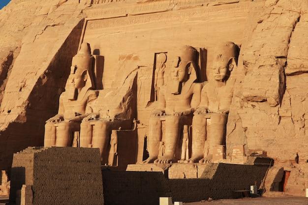 Temple in abu simbel, egypt