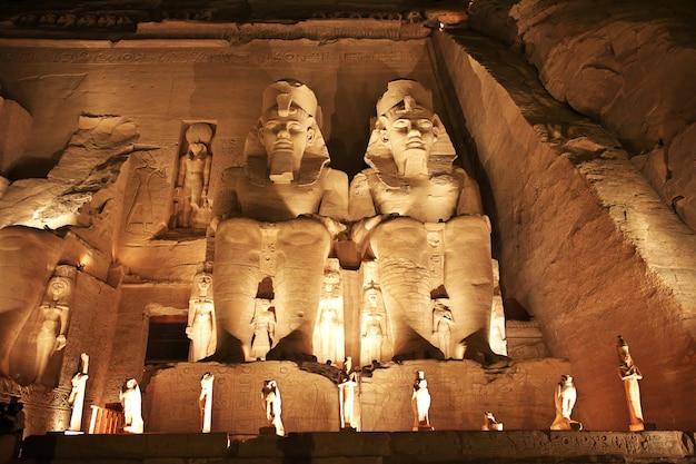 Храм абу-симбел в египте