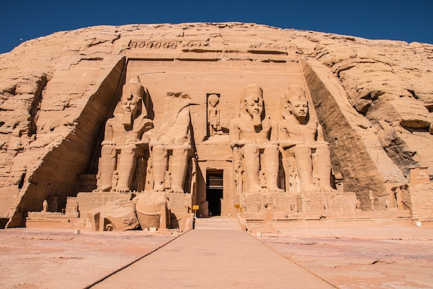 Temple of abusimbel
