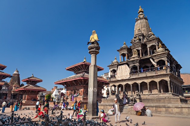 Temple on durbar square