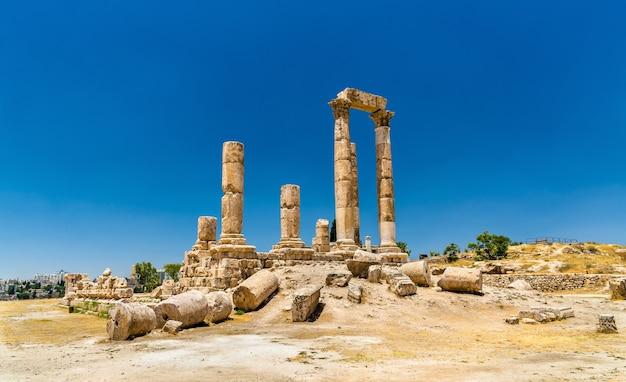 Temple of hercules of the amman citadel, jabal al-qal'a - jordan