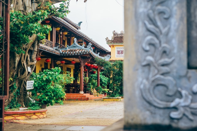 Temple in hoi an, vietnam