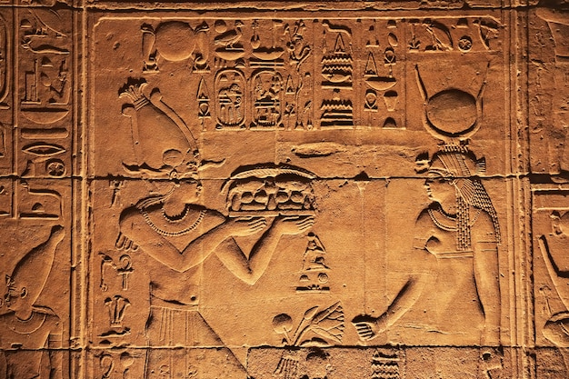 エジプトのフィラエ神殿にあるイシス神殿