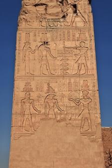 エジプトのナイル川にあるコムオンボ神殿