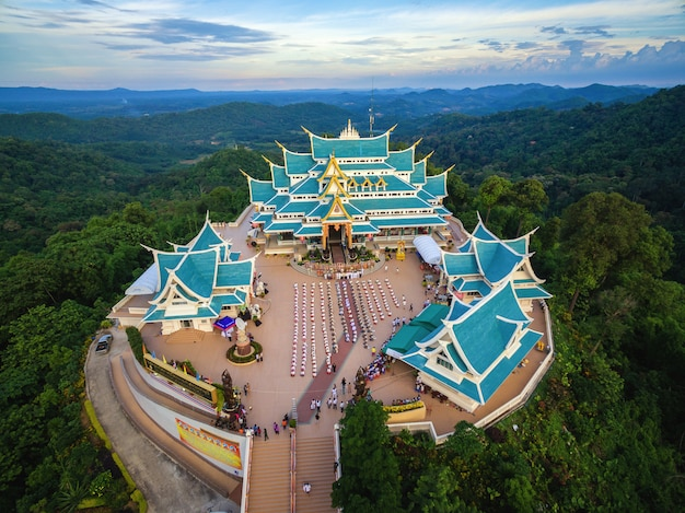 Temple wat pa phukon udonthani in thailand. (public domain or treasure of buddhism)