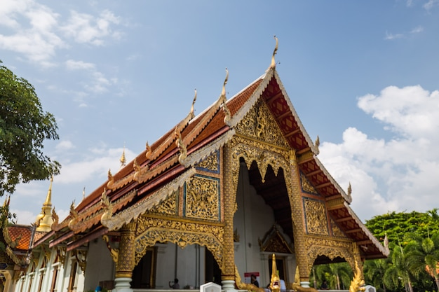 Temple with a golden roof