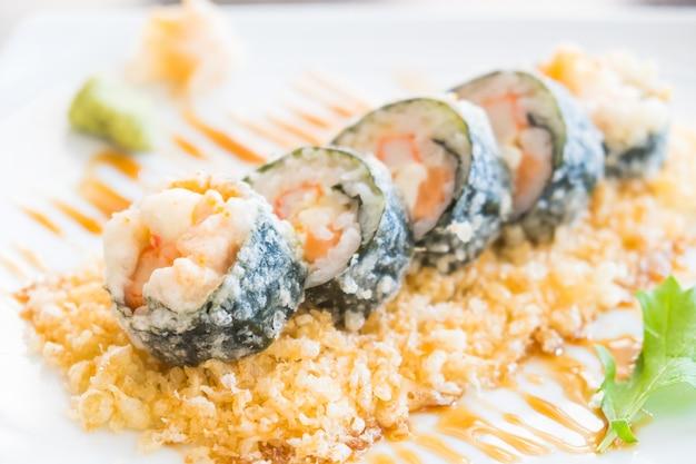 Tempura sushi maki
