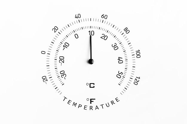 摂氏10度