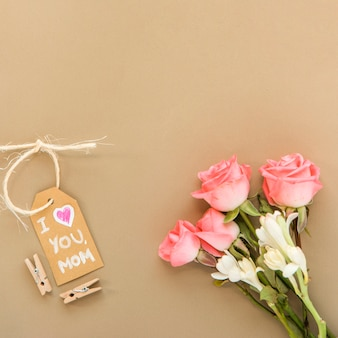 Tender arrangement for mother`s day