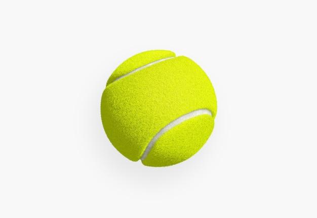 고립 된 테니스 공