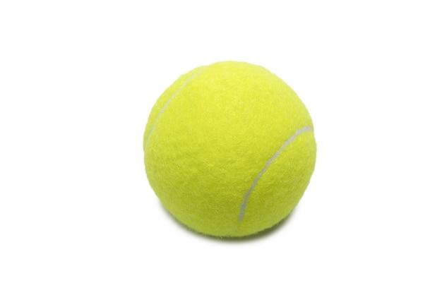 Tennis balls isolated on white