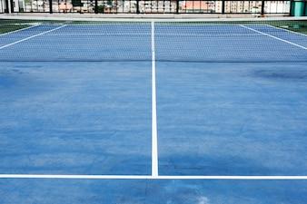 Tennis Court Sport Match Play Game Concept