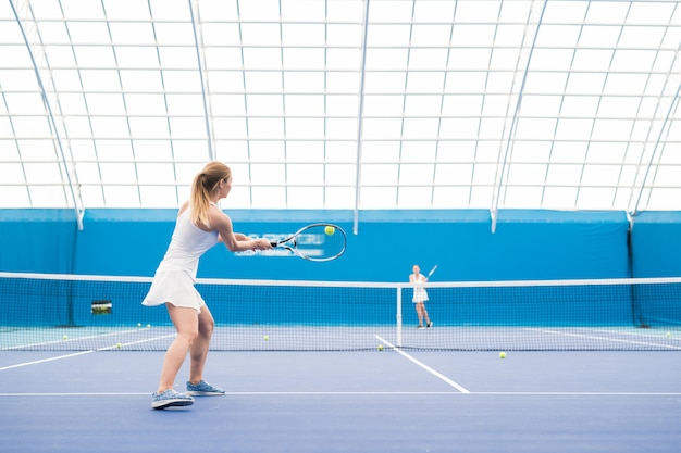 テニスの試合