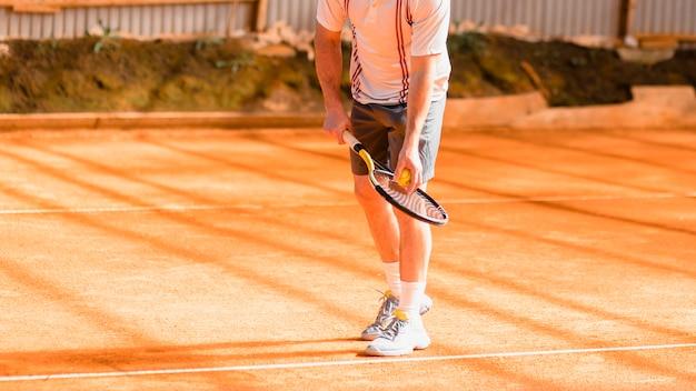 テニス選手のコンセプト