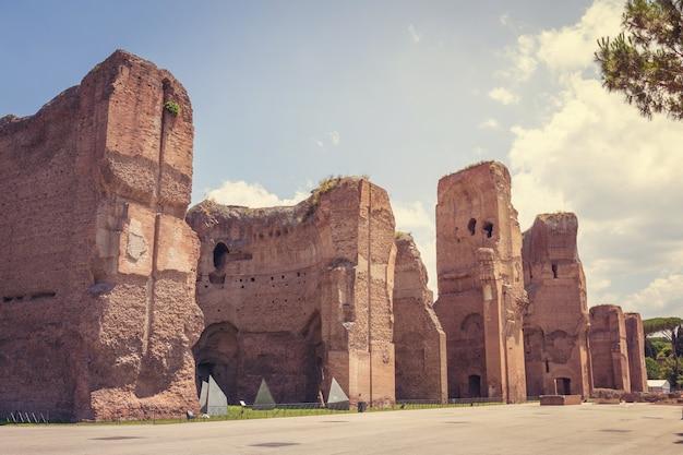 Terme di caracalla 또는 the baths of caracalla