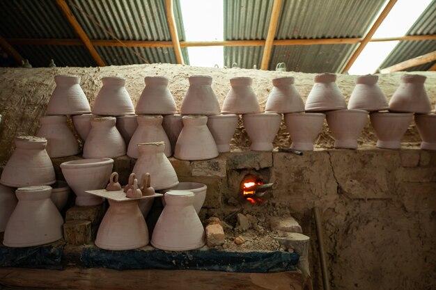 シロアリ粘土窯