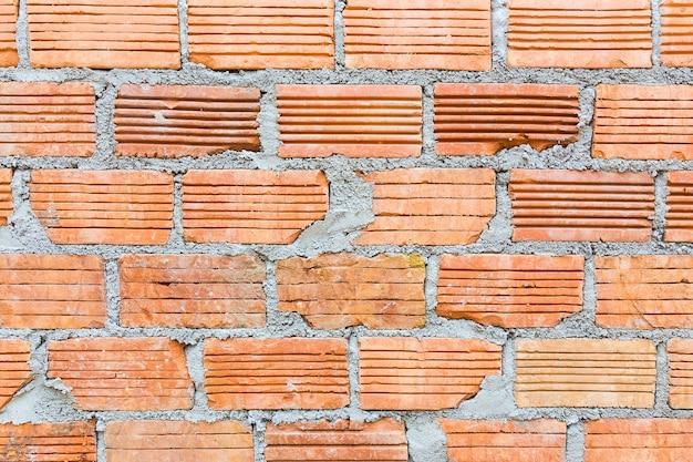 Terra cotta bricks wall