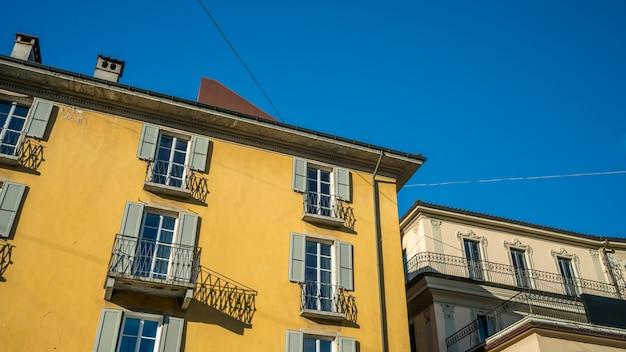 Terrace house building