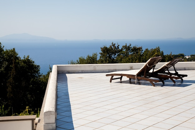 나폴리 만의 테라스: 멋진 전망을 자랑하는 2개의 좌석