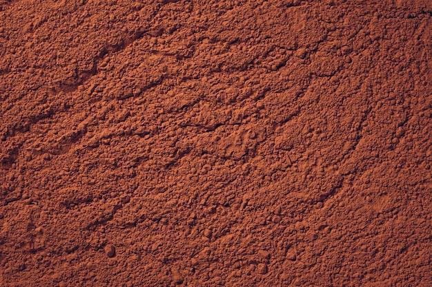 테라코타 가루 토양 또는 점토와 같은 질감 배경
