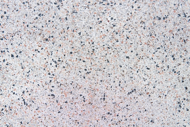 Terrazzo floor old texture or polished stone for background.
