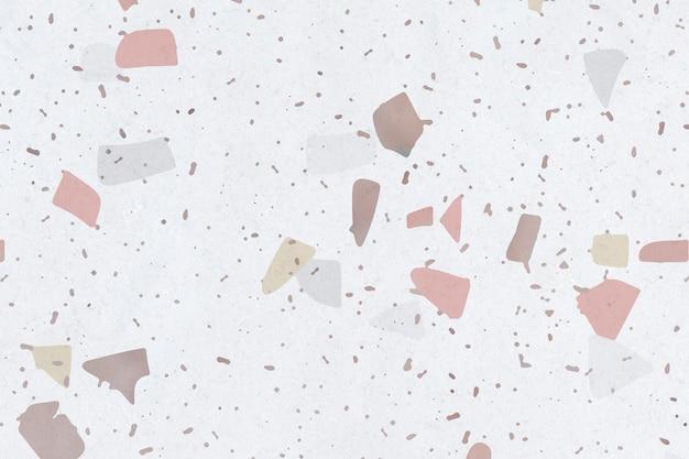テラゾ織り目加工の床