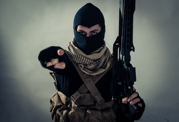 Terrorist menace