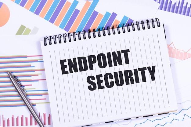 종이에 endpoint security라고 문자를 보냅니다. 비즈니스 개념