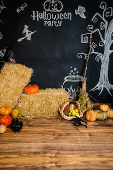 Text and pictures for the celebration of halloween