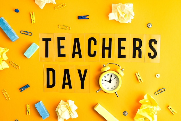 Text teachers day