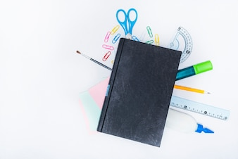 Textbook on stationery