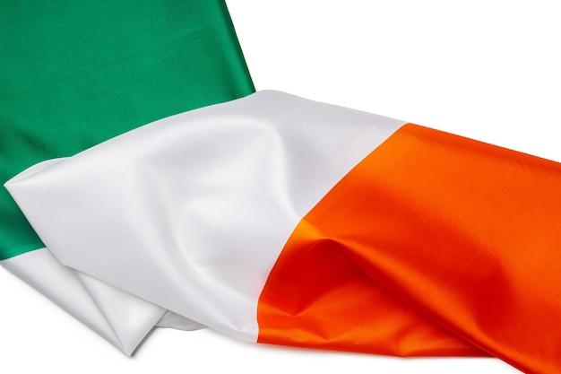 아일랜드의 섬유 국기를 닫습니다.