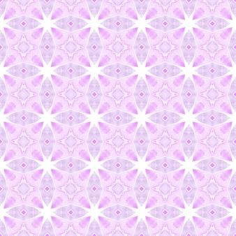 Textile ready authentic print, swimwear fabric, wallpaper, wrapping. purple posh boho chic summer design. trendy organic green border. organic tile.