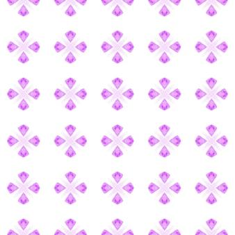 テキスタイルレディファンタスティックプリント、水着生地、壁紙、ラッピング。紫の奇妙な自由奔放に生きるシックな夏のデザイン。トロピカルなシームレスパターン。手描きの熱帯のシームレスな境界線。