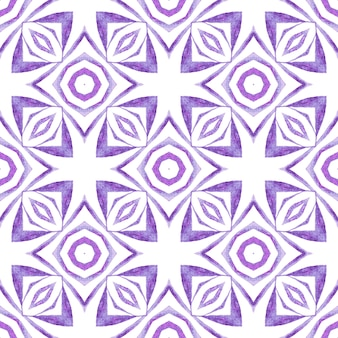 Textile ready quaint print, swimwear fabric, wallpaper, wrapping. purple decent boho chic summer design. repeating striped hand drawn border. striped hand drawn design.