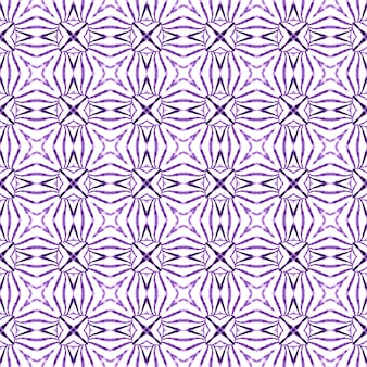 Textile ready valuable print, swimwear fabric, wallpaper, wrapping. purple fascinating boho chic summer design. exotic seamless pattern. summer exotic seamless border.