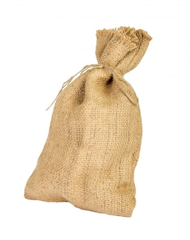 Textile sack with empty space