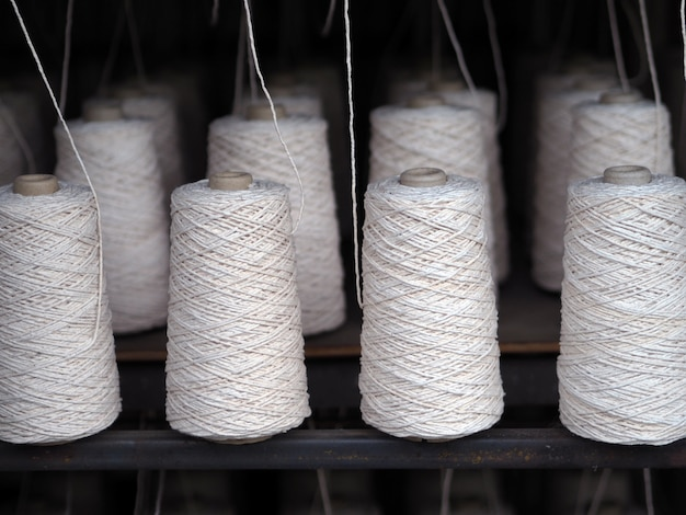 Textile threads industry .