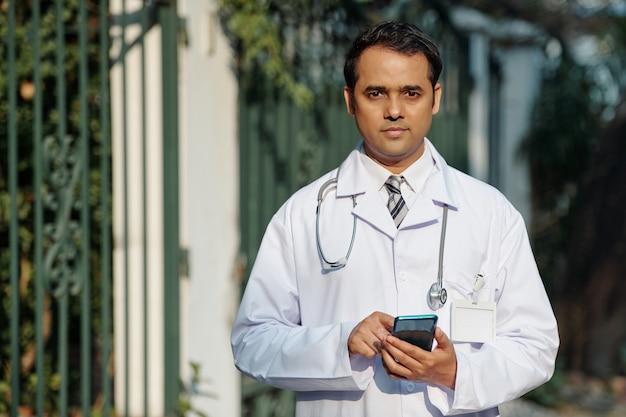 一般開業医にテキストメッセージを送る