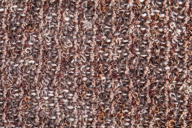 Textural background of melange fabric with lurex thread