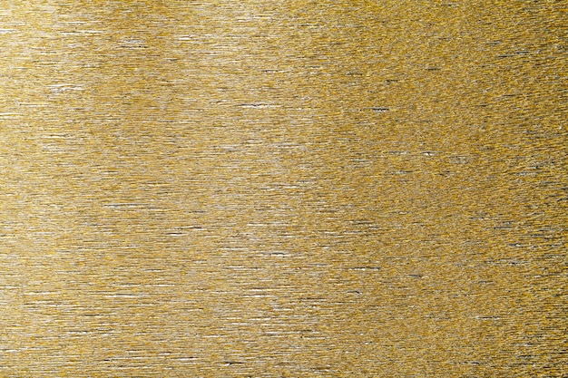 Textural of golden background of wavy corrugated paper