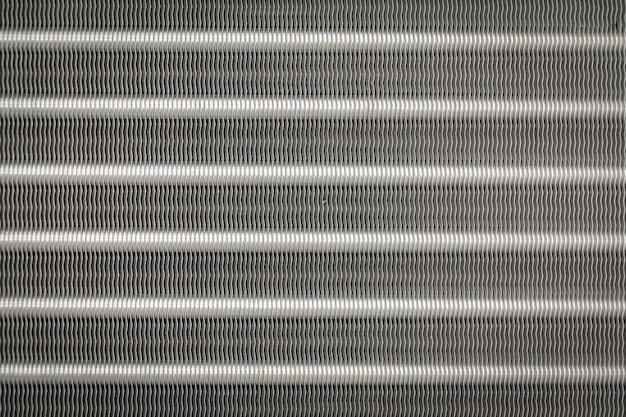 Текстура и backgroud из алюминиевых ребер конденсатора для кондиционера