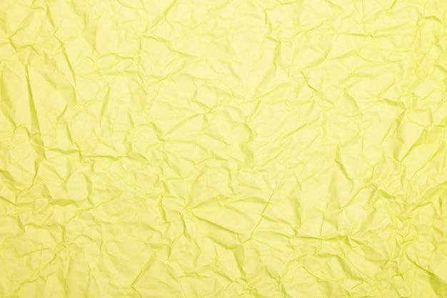 详细弄皱的纸纹理或背景