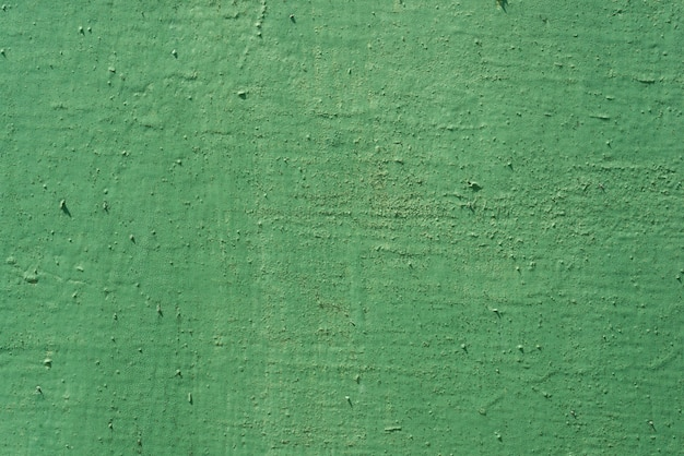 Texture background green painted cracked iron surface