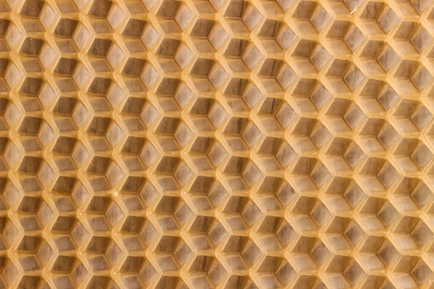 Texture or background honeycomb for bees
