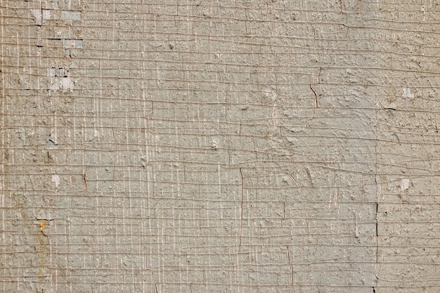 サンプルコンセプトの建設、食品、または工業用フラットレイヤーのモックアップまたはデザインパターンの市松模様の古いひびの入ったペイントのテクスチャ背景。