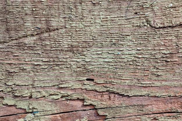 サンプルコンセプトの建設、食品、または工業用フラットレイヤーのモックアップまたはデザインパターン用の古い塗装木材のテクスチャ背景。