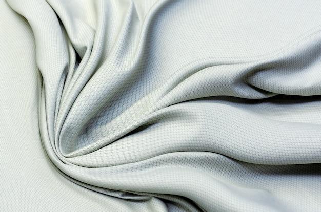질감, 배경, 패턴입니다. 재봉을 위한 회색 면 질감 직물.