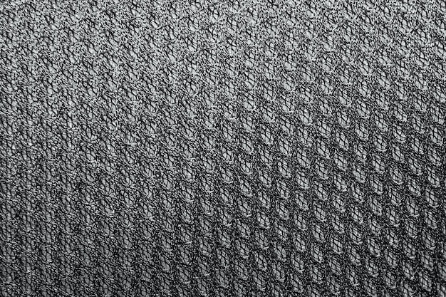 Texture background of polyester fabric. plastic weave fabric pattern